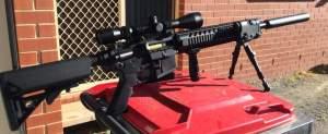 SKD M4SS Gel Blaster mod 3