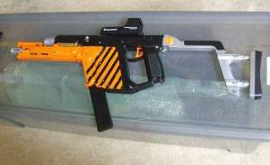 Kriss Vector V3 Gel Blaster mod