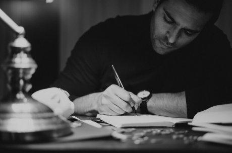 Scriptie schrijven in notitieblok