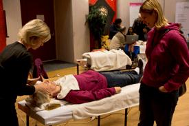 Gezondheidsbeurs in Wijkcentrum De Dreef