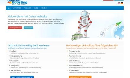 Geld verdienen mit Domainboosting