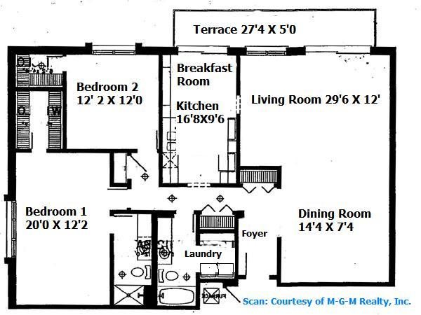 Large 2 Bedroom with 2 Walk-In Closets & In-Unit Laundry!