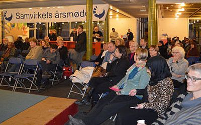 Stort fremmøde til Samvirkets årsfest