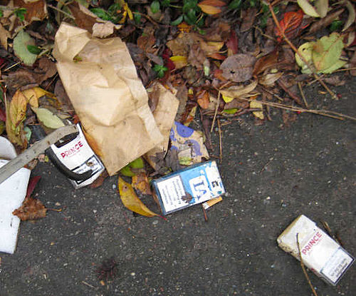 Affald fra rygning, sex og tørst