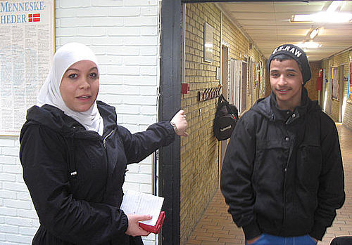 Lykketeam åbner døre for eleverne