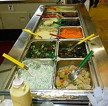Hot chili, salat og andre herligheder