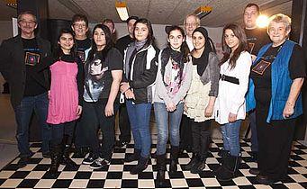 Borgerjournalister fejret ved fest i Vest