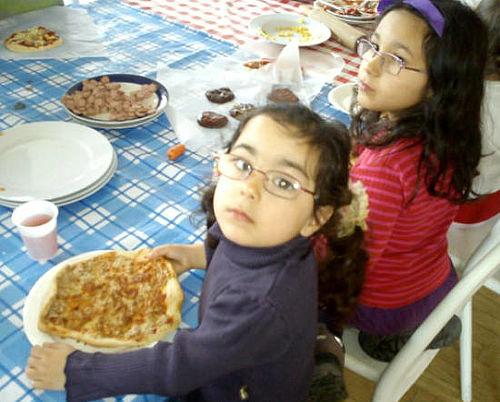 Børnene var bagere for en dag