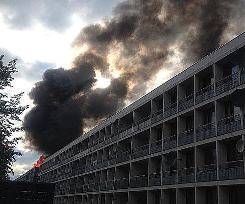 Brand på Bentesvej 19