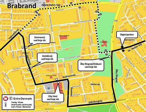 Tinesvej blokeres i aften – senere Edwin Rahrs Vej