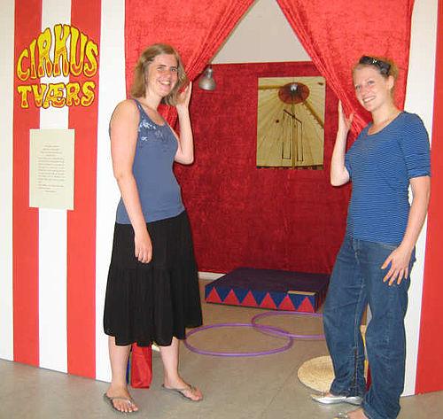 Cirkus Tværs til eksamen?