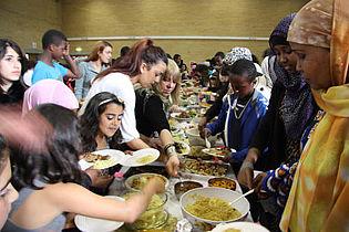Skolen holder også Eid-fest