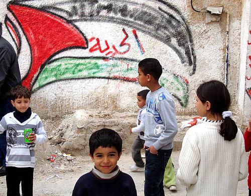 Gellerup hører om Palæstina