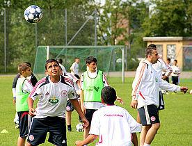 Fodboldskole – nu også med piger