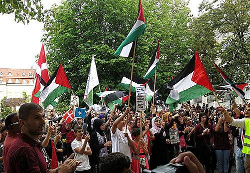 Endnu en stor demonstration for fred