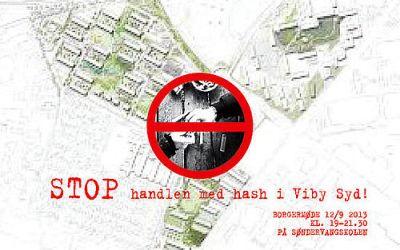 Borgermøde: stop handel med hash