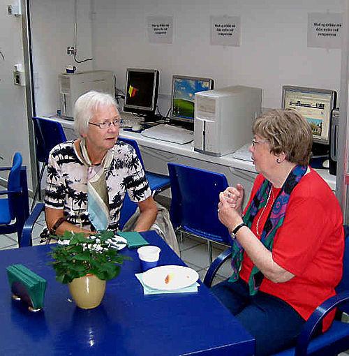 Ældre indvandrere fra Århus Vest arrangerer kulturdag på Rådhuset
