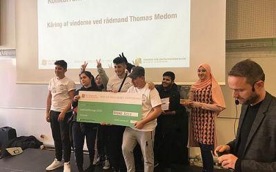 Bæredygtighedsprojekt fra Gellerup vinder iværksætterkonkurrence