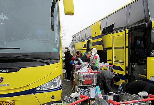 På juleindkøb i Tyskland