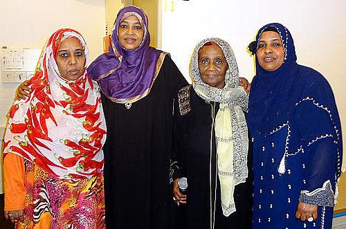 Kvinder fejrede international kampdag