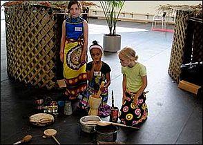 Sommerskole for børn i Gellerup