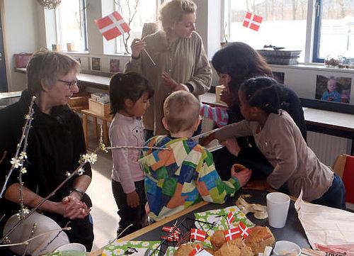 Naturbørnehaven et år i Viby Syd