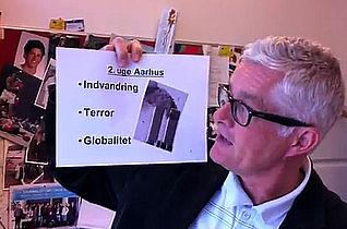 Nysgerrige nordiske journalister