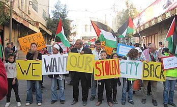 Palæstinaaften torsdag: Open Shuhada Street
