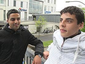 Ahmed: I byen kigger folk skævt til os