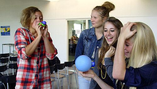 Kloge unge til Viby Gymnasium i dag