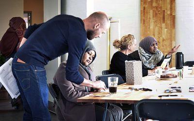 Danskundervisning i Gellerup hitter