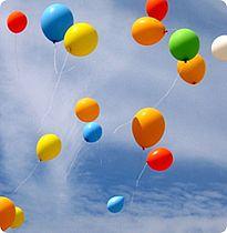1500 balloner skal markere Take Off