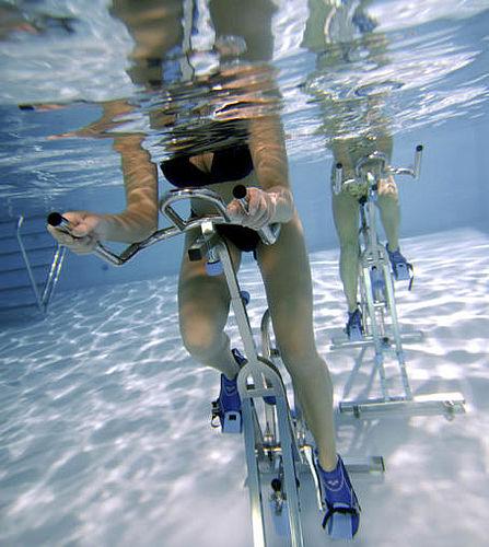 Aqua-spinning i Gellerupbadet