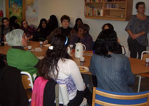 Reception for Kvindehusets bydelsmødre