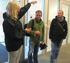Nordiske journalister besigtigede Gellerup
