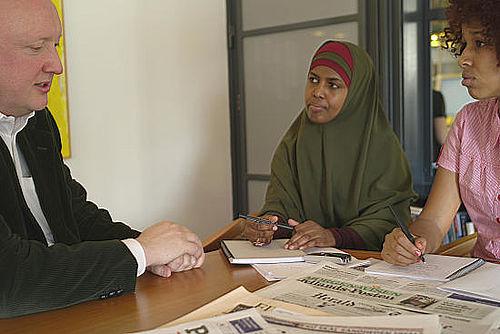 Aviser uden etniske journalister