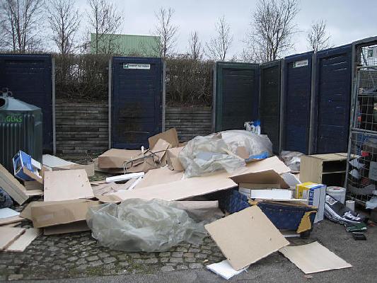 Affaldssortering er i gang