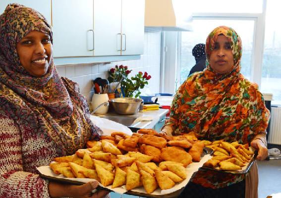 Somalisk mad skaffer kvinder ind på arbejdsmarkedet