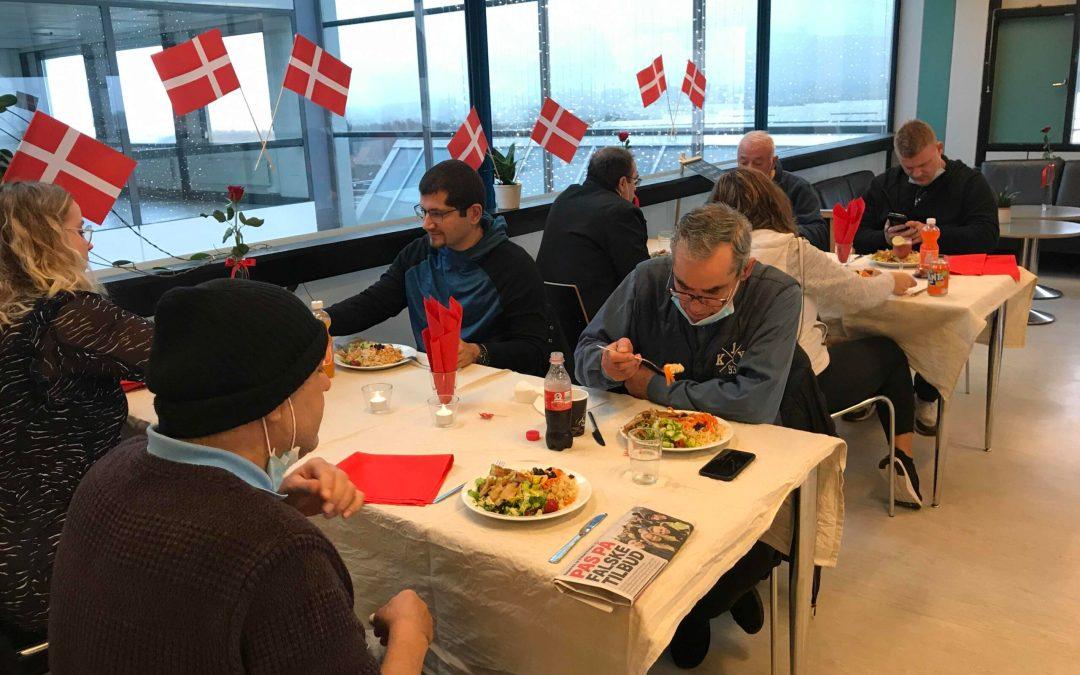 Café Vita fejrede 20 års fødselsdag med festmiddag for stamgæster og frivillige