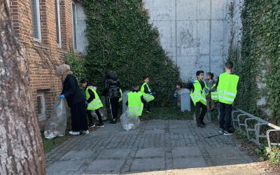 Fælles indsats om indsamling af skrald i Gellerup og Toveshøj