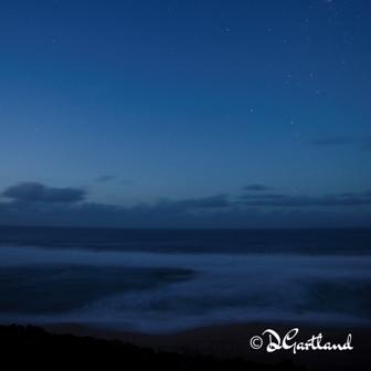Blue Hour Johanna Beach 1 - Square Photography by Deb Gartland