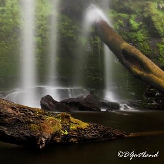 Hopetoun Falls 2 - Square Photography by Deb Gartland