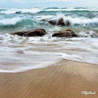 Johanna Beach 1 - Square Photography by Deb Gartland
