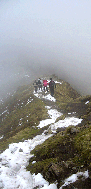ridge-walk
