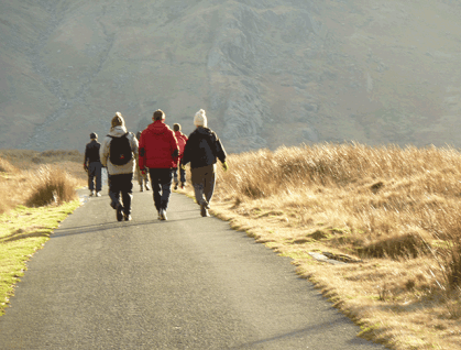 walking-downhill