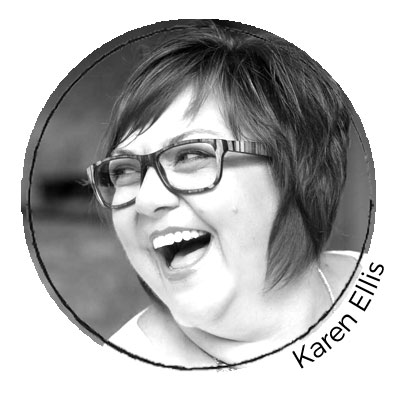 Karen Ellis - Contributing Artist for Gel Press