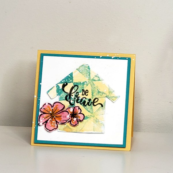 Card by Richard Garay RG for Gel Press