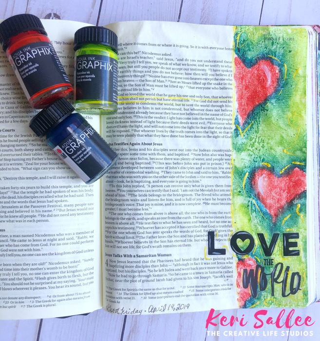 Bible Journaling Keri Sallee