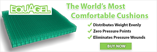 Equagel Wheelchair Cushions are the most comfortable cushions in the world