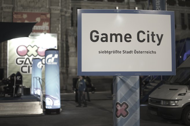 Game City 2013 - Ortstafel